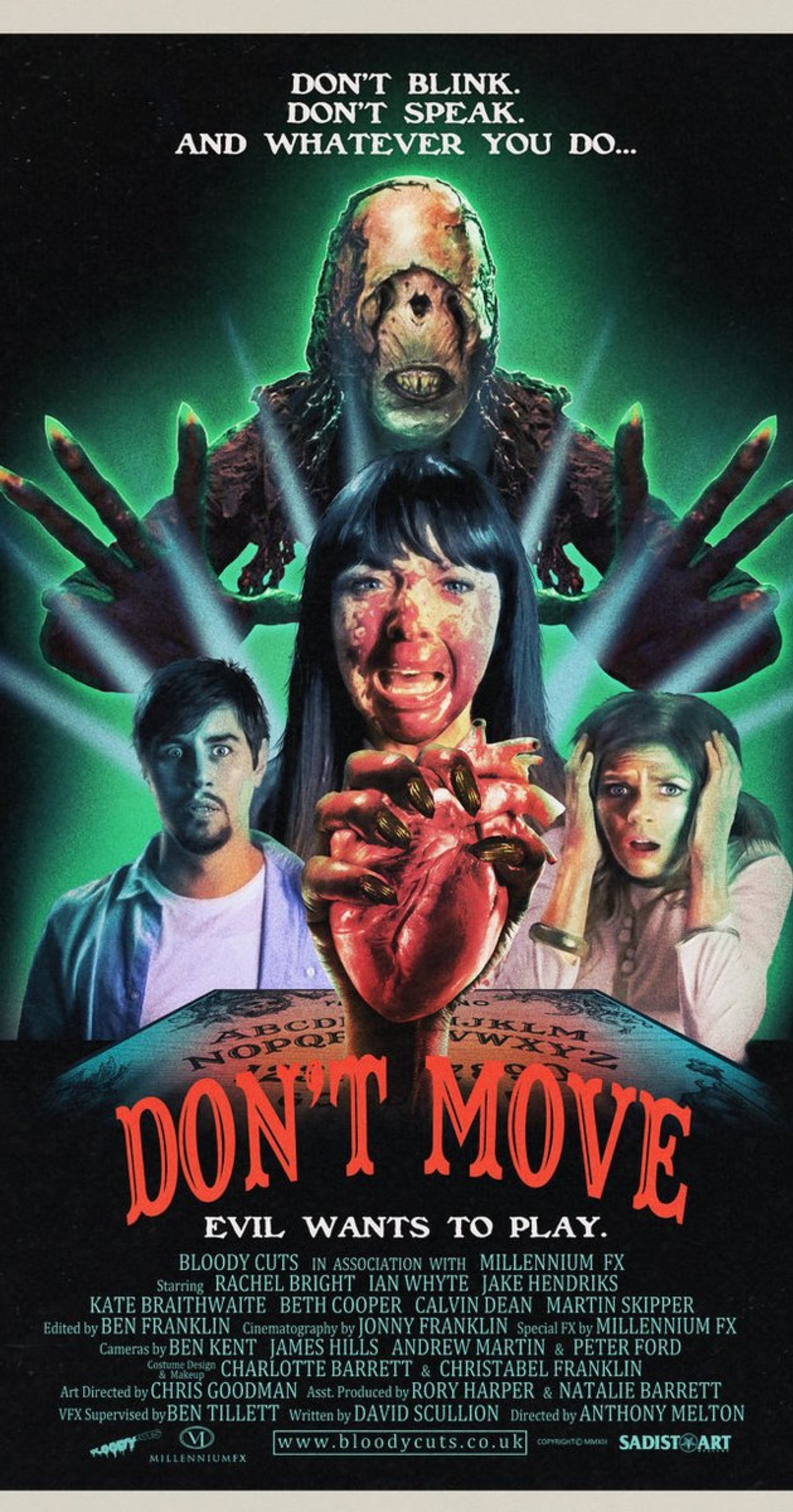 DON'T MOVE, dir. Anthony Melton (2013)