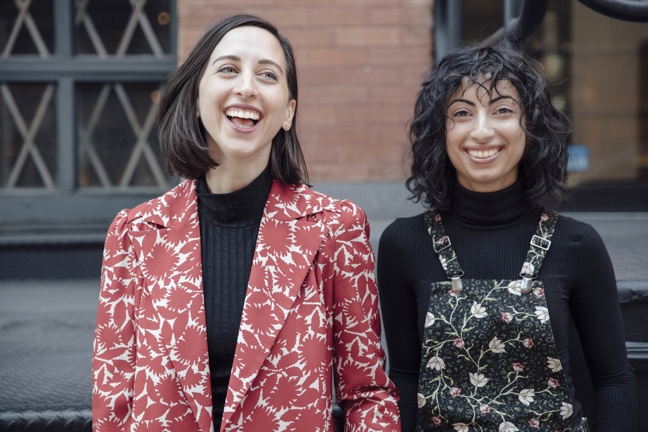 "What advice would you give another woman filmmaker just getting started in the industry? ""Don't worry about asking for permission."" Roja Gashtili & Julia Lerman"