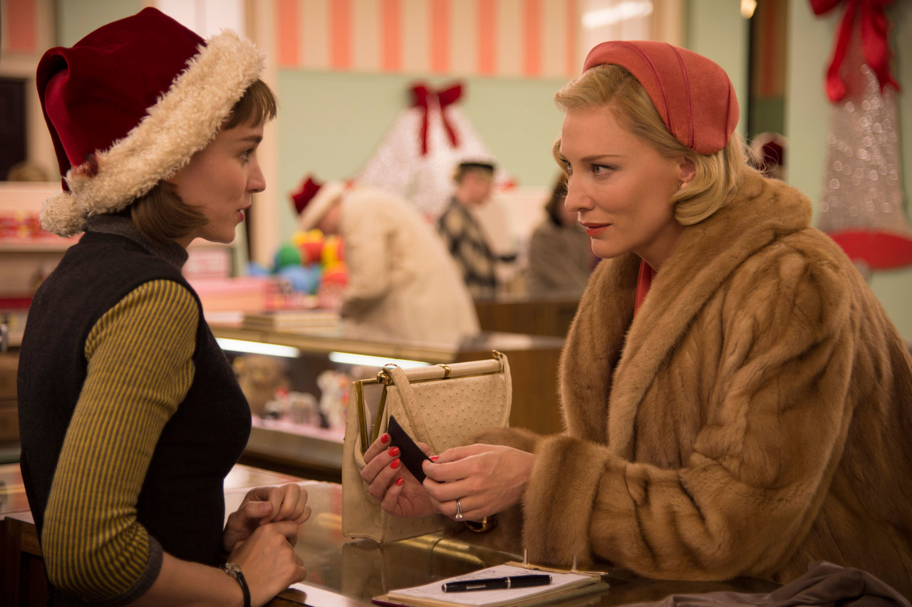 You'll be hard-pressed to find two better performances this year than those in... CAROL (2015)