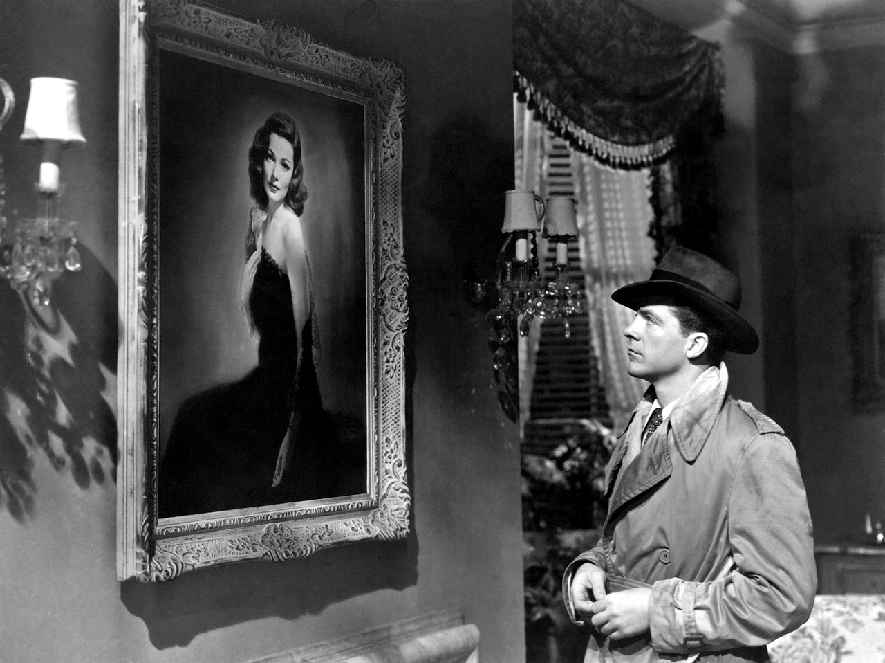 Support gender equality in storytelling with guns, murder, treachery, and classic noir... LAURA (1944)