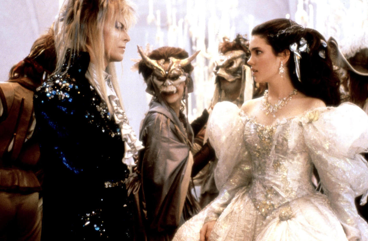 Here's further proof that human beings don't get much cooler than the late David Bowie... LABYRINTH (1986)