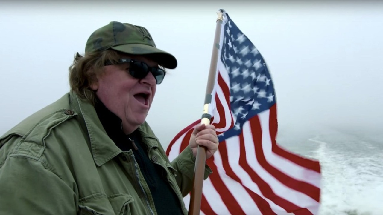Patriotism by way of wanting to leave the country ASAP... WHERE TO INVADE NEXT (2016)