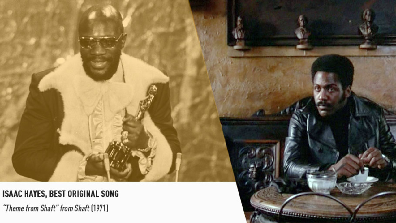 In 1972, Isaac Hayes picked up an Oscar for composing the instantly-iconic theme song for SHAFT.
