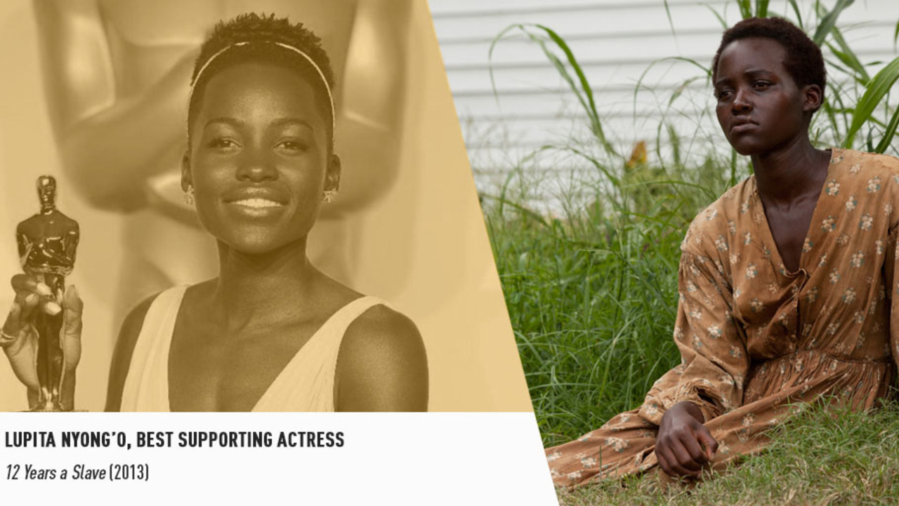 The superb Lupita Nyong'o won an Oscar for delivering one of the greatest big screen debuts ever.