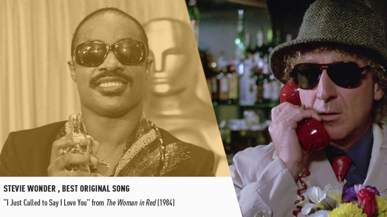 Legendary songsmith Stevie Wonder picked up a Best Original Song Oscar in 1985.