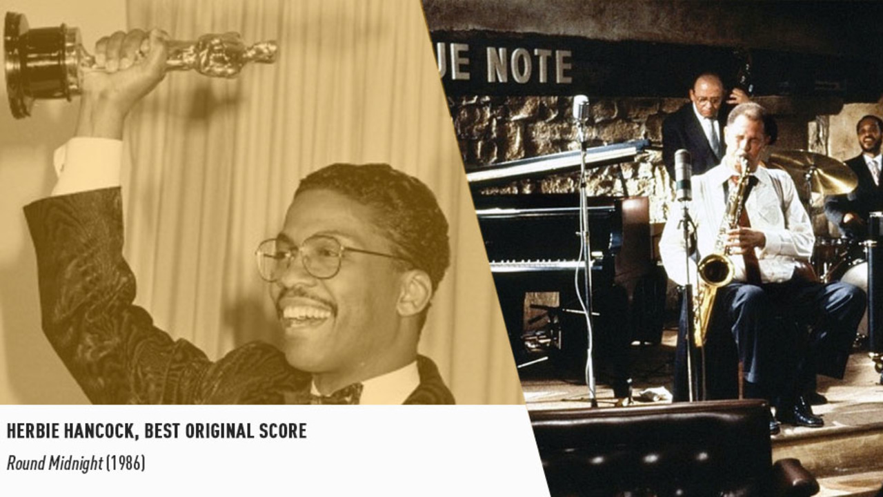Eclectic music icon Herbie Hancock earned an Oscar in 1987 for 'ROUND MIDNIGHT's original score.