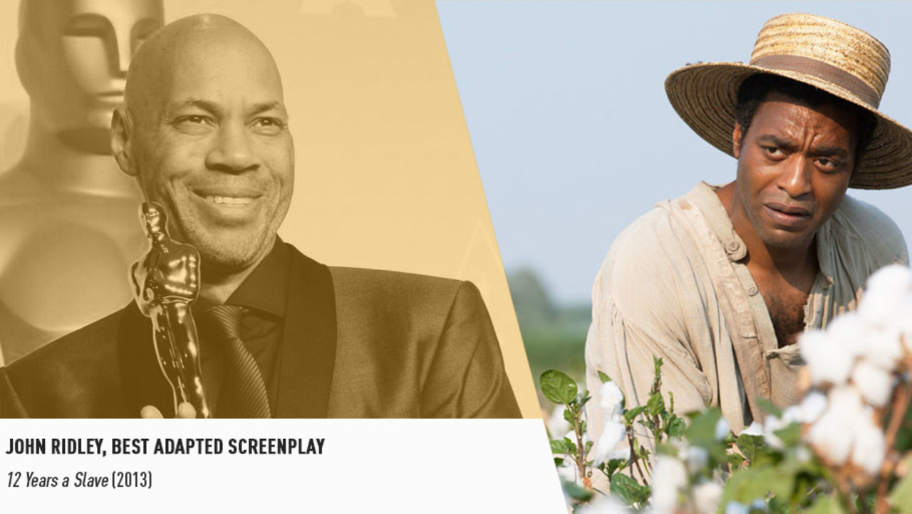 John Ridley won his Oscar for translating Solomon Northup's harrowing story for the big screen.