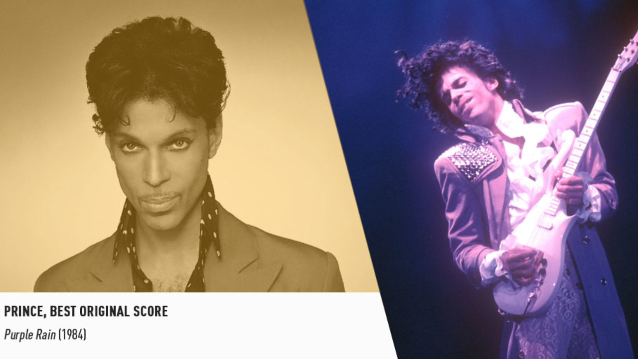Did you know that Prince is the last winner of The Academy's Best Original Song Score category?