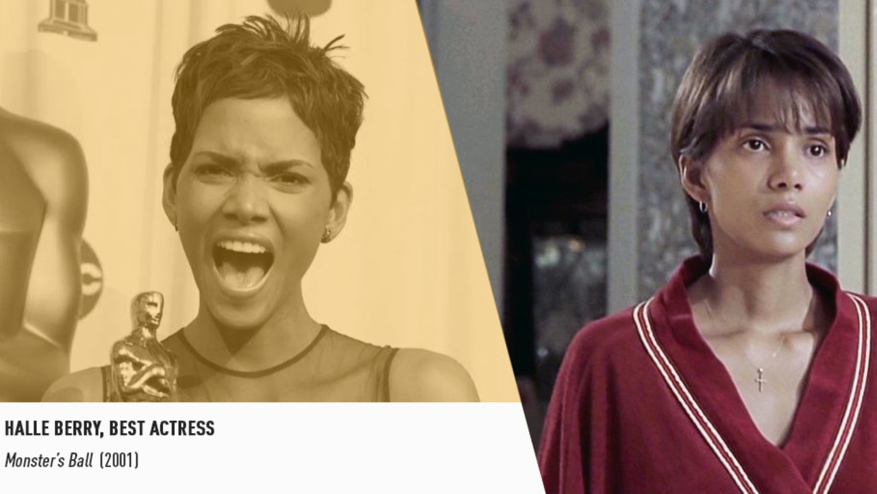 Halle Berry shattered Hollywood's barriers to become the first black Best Actress winner in 2002.