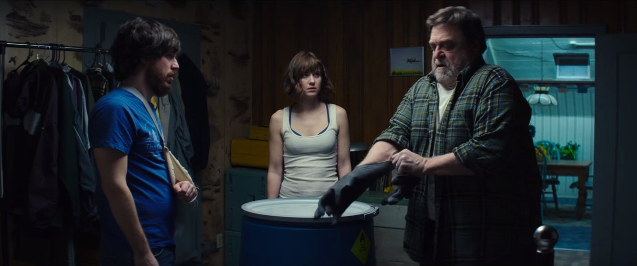 Unsurprisingly, Hollywood's best science fiction movie in years comes from the J.J. Abrams factory... 10 CLOVERFIELD LANE (2016)