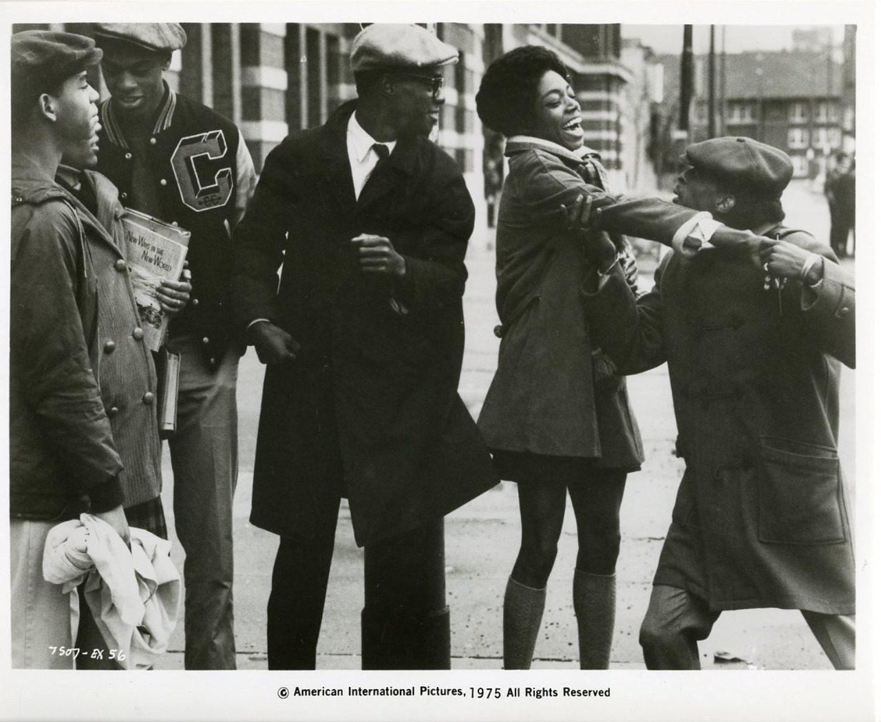 If you've never seen '70s-era Pam Grier on a big screen, you can't miss this... COOLEY HIGH (1975)