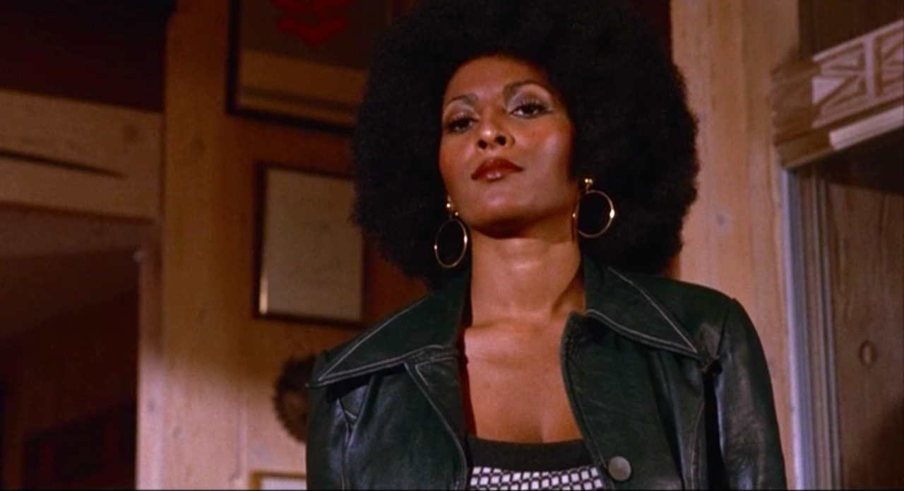 If you've never seen '70s-era Pam Grier on a big screen, you can't miss this... FOXY BROWN (1974)