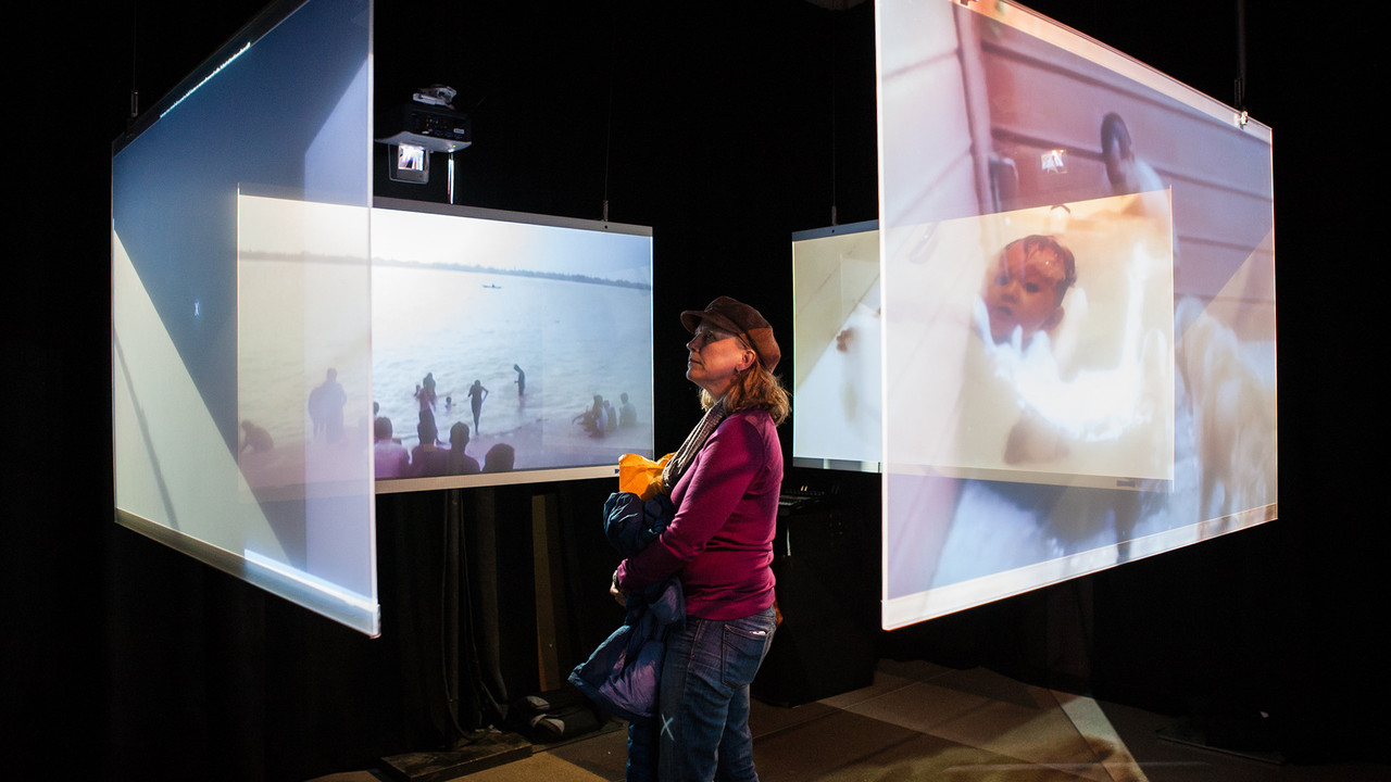 Storyscapes - Experiential storytelling at the Tribeca Festival Hub.