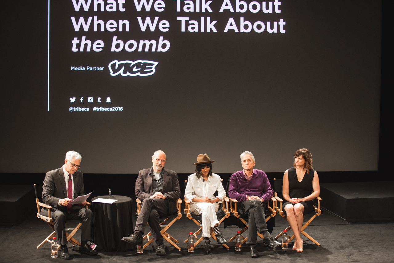 WHAT WE TALK ABOUT WHEN WE TALK ABOUT THE BOMB, Panel