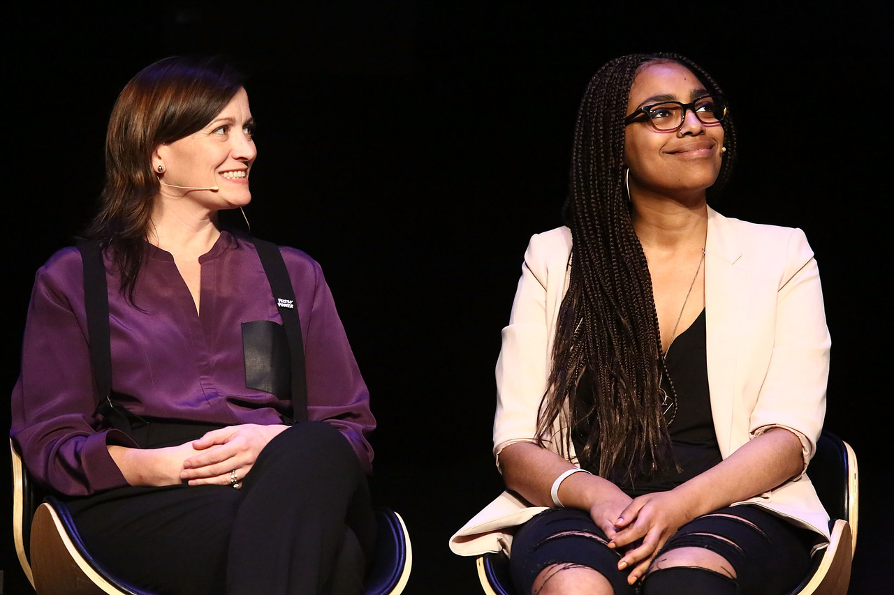 Daring Women Summit - Amy Emmerich (Chief Content Officer for Refinery 29) and Heben Nigatu (Buzzfeed)