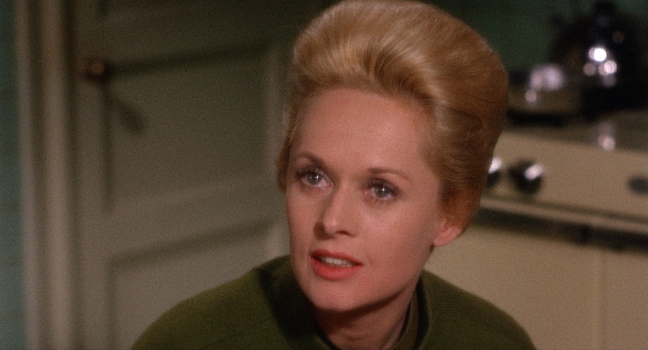 Tippi Hedren, <i>The Birds</i> (1963) and <i>Marnie</i> (1964): Hedren is often unfairly dismissed for being a slightly wooden performer, her success attributed solely to the director who notoriously tortured her while securing her a place in film history. In the cruel hands of Hitchcock and through her own poised watchability, Hedren shines to sparklingly perverse perfection as a duo of distressed damsels in their back-to-back collaborations. Neither <i>The Birds</i> nor <i>Marnie</i> would be quite the same film without her participation, and the actress' iconicity in the former is a testament to her grace and gameness, as well as her resilience.