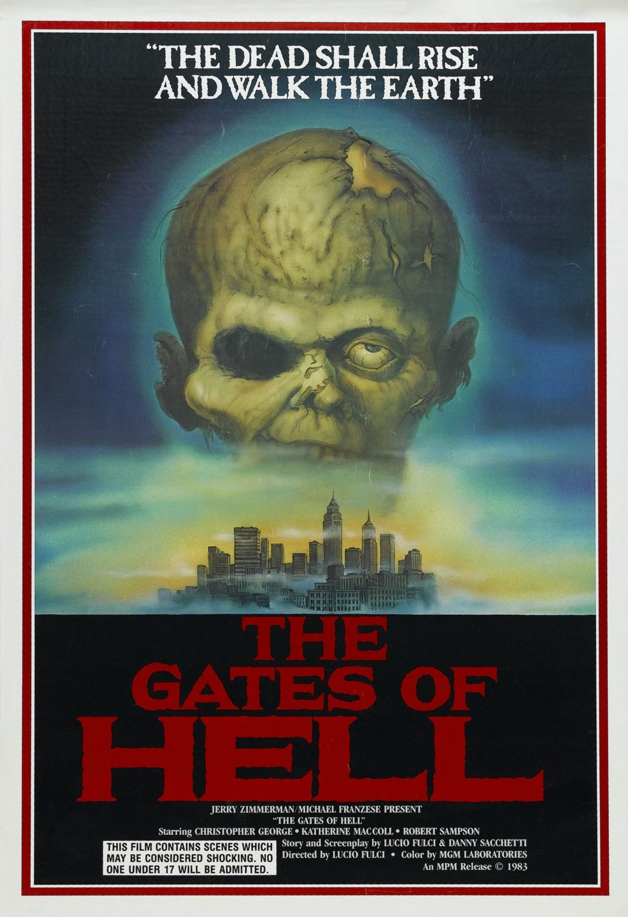 CITY OF THE LIVING DEAD (THE GATES OF HELL) (1980)