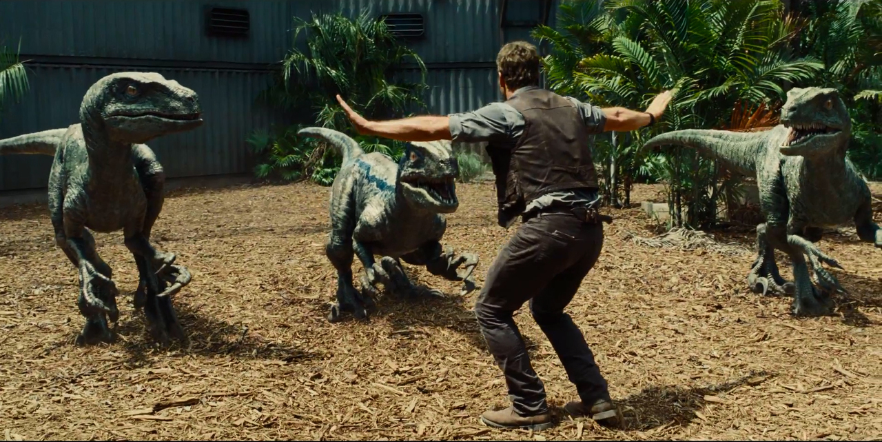 Because when there's a movie starring something called an Indominus Rex, how can you resist?… JURASSIC WORLD (2015)
