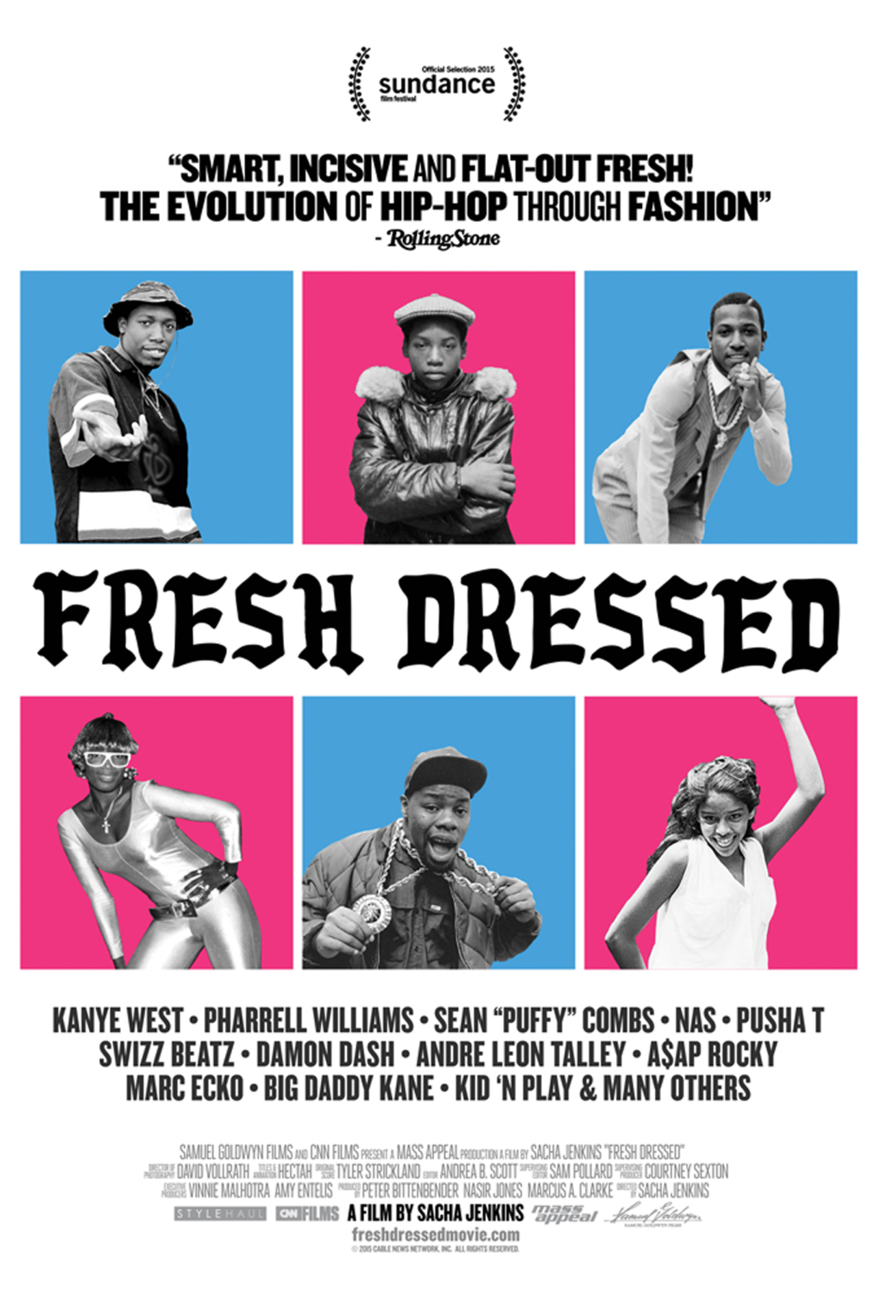 The official poster for FRESH DRESSED.
