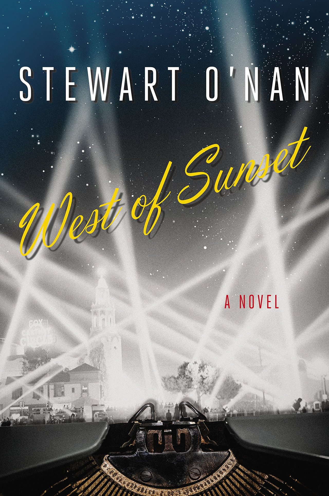 WEST OF SUNSET, by Stewart O'Nan