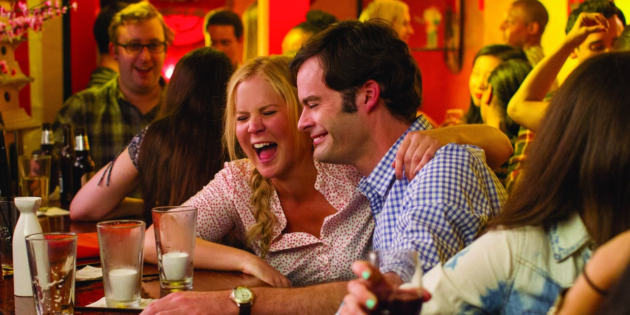 For those who prefer comedy that's actually funny in their Hollywood rom-coms... TRAINWRECK (2015)