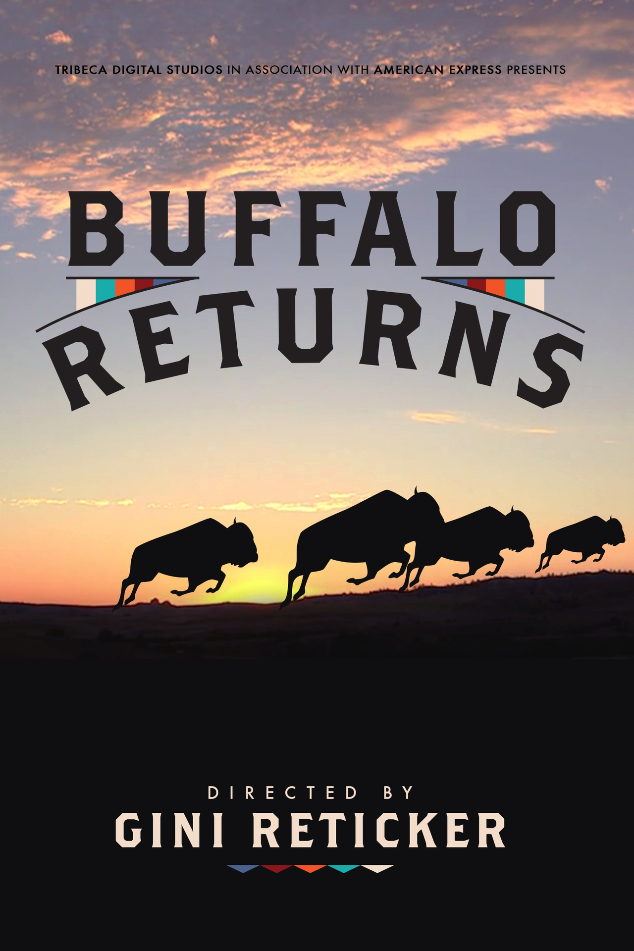 Official poster for BUFFALO RETURNS