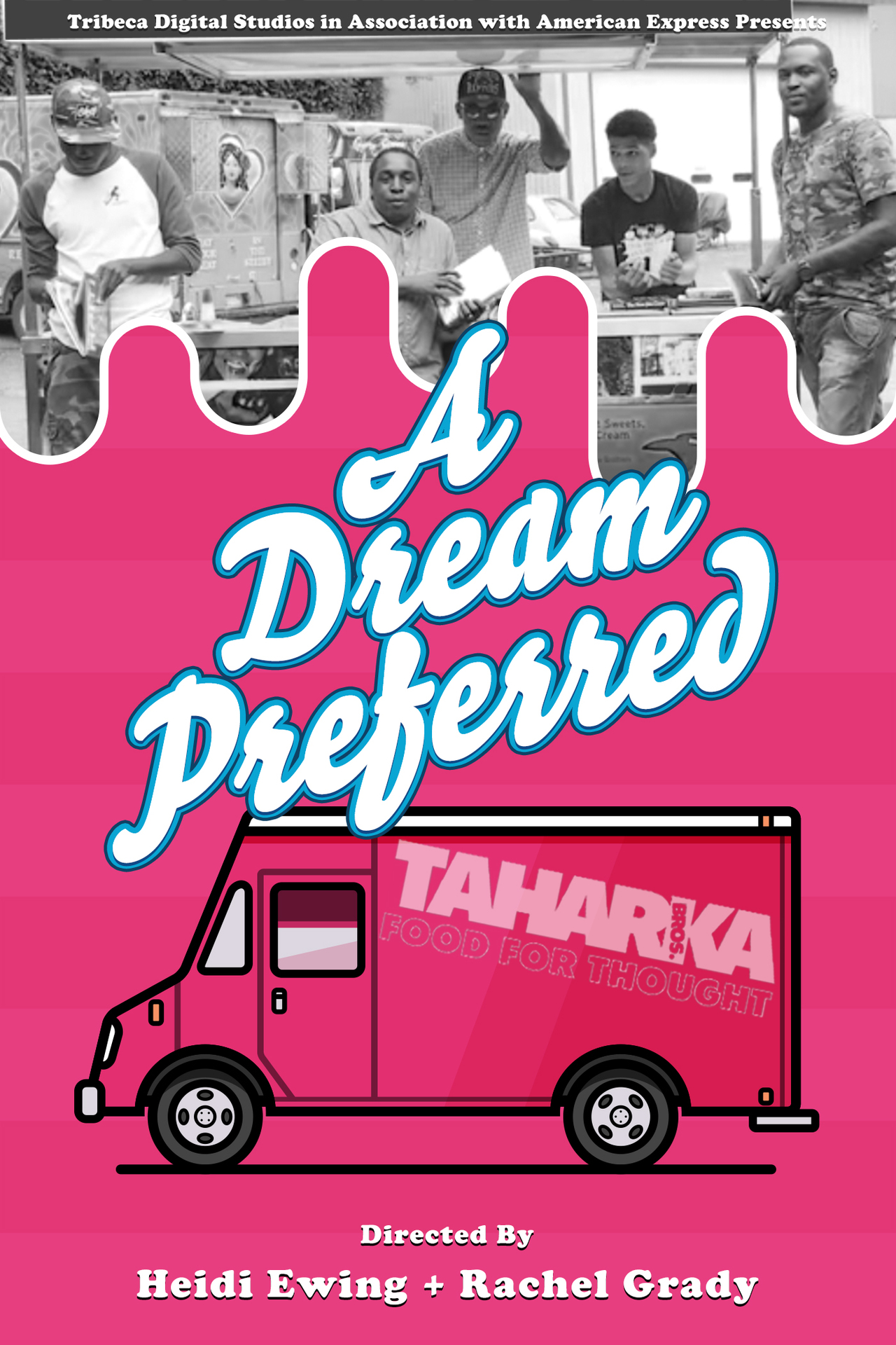 Official poster for A DREAM PREFERRED