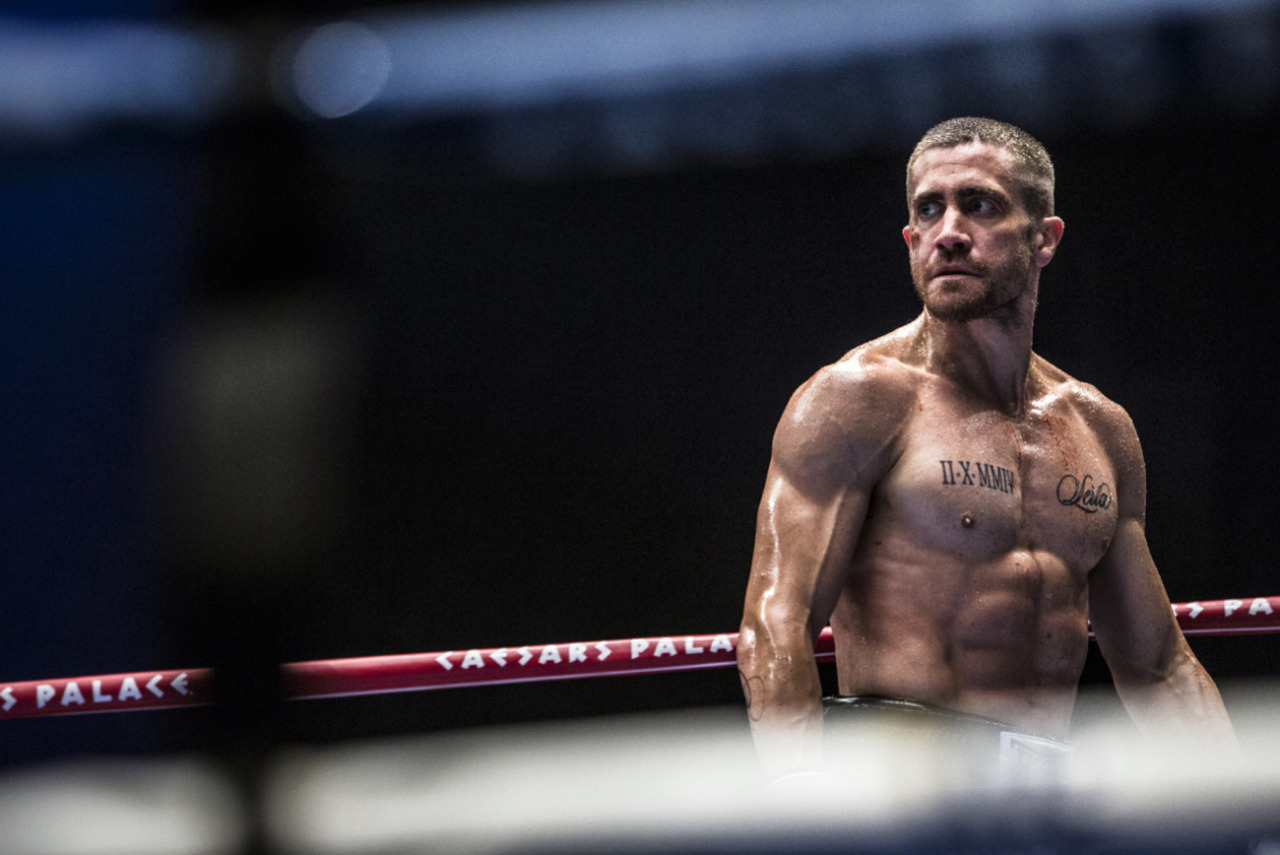 Further proof that, in terms of pure acting, Jake Gyllenhaal doesn't have many peers in Hollywood... SOUTHPAW (2015)