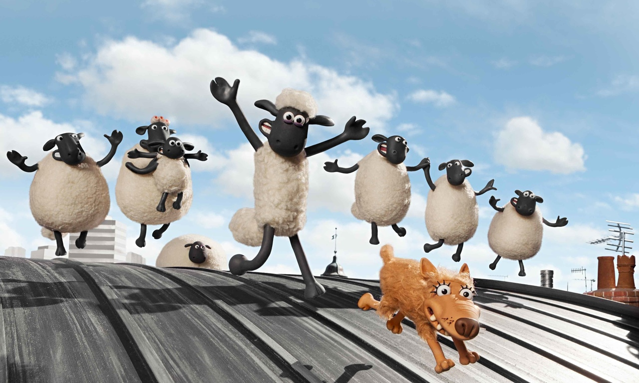 """Because critics aren't using words like """"excessive cuteness"""" and """"shear delight"""" for nothing... SHAUN THE SHEEP (2015)"""