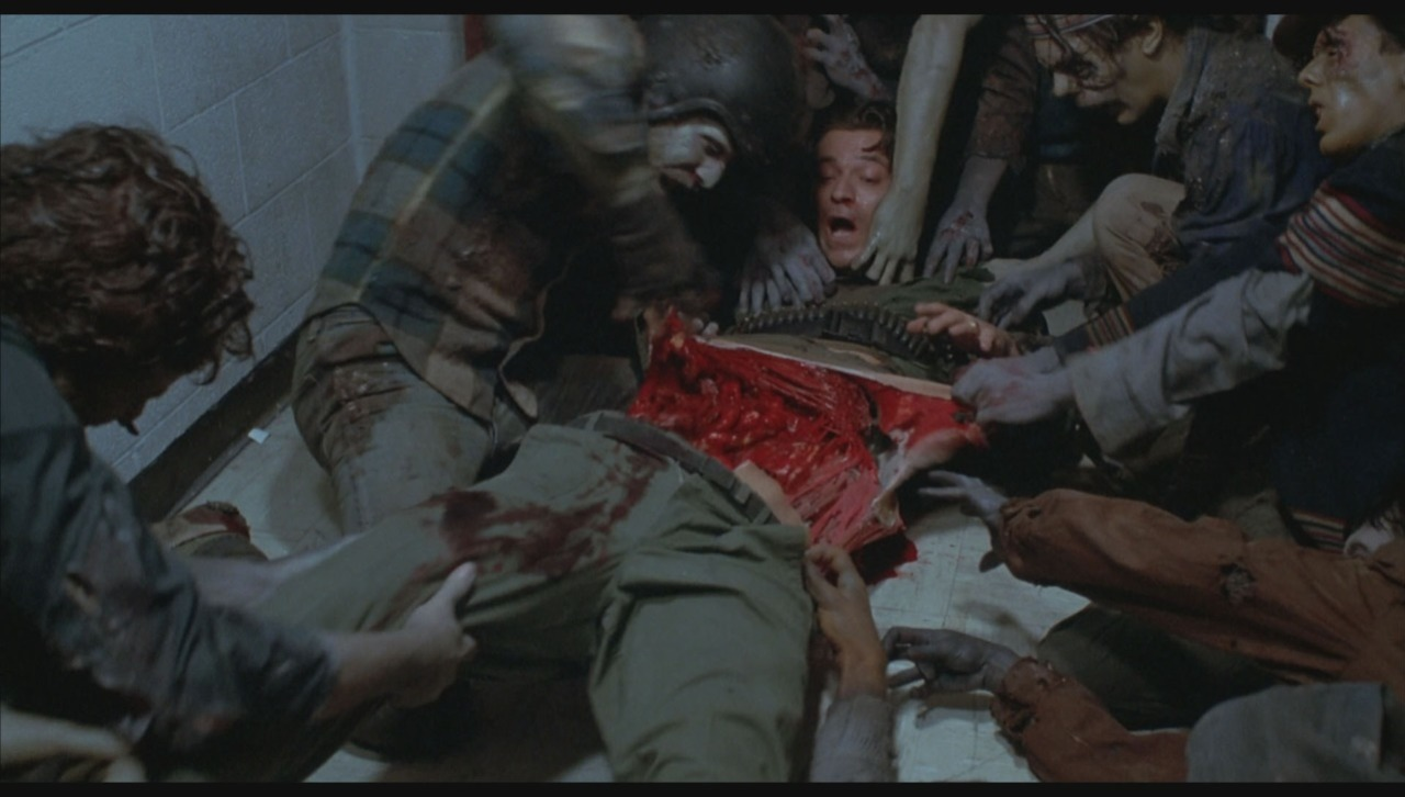 If adorable sheep and teenage drama don't interest you, try some zombies and homicidal maniacs... DAY OF THE DEAD (1985)